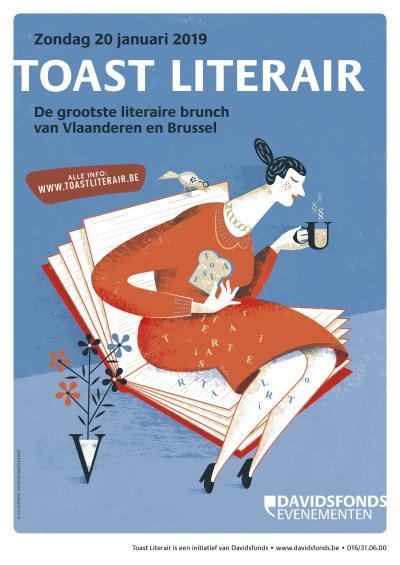 Toast Literair – Auteurs in gesprek tijdens literaire brunch